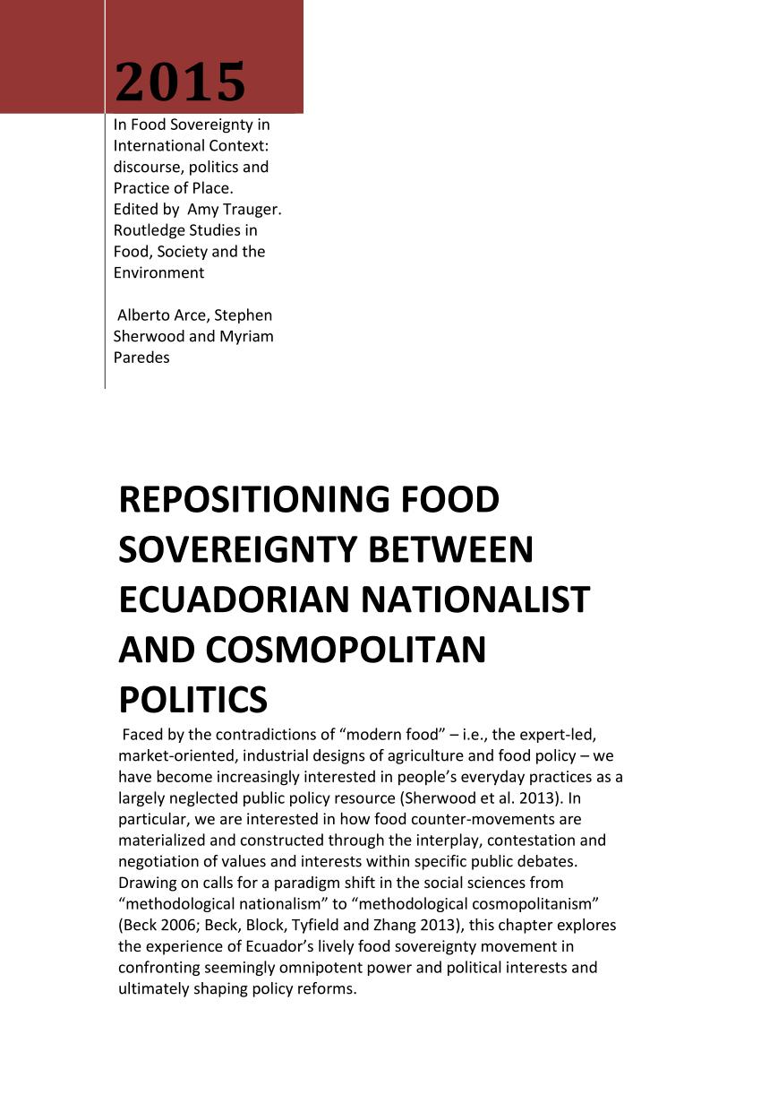 repositioning food