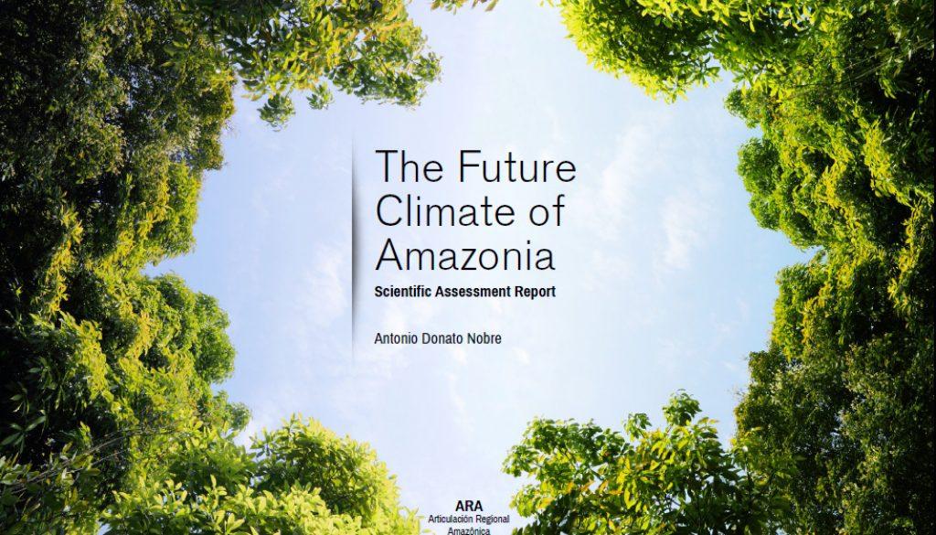 the future climate of amazonia