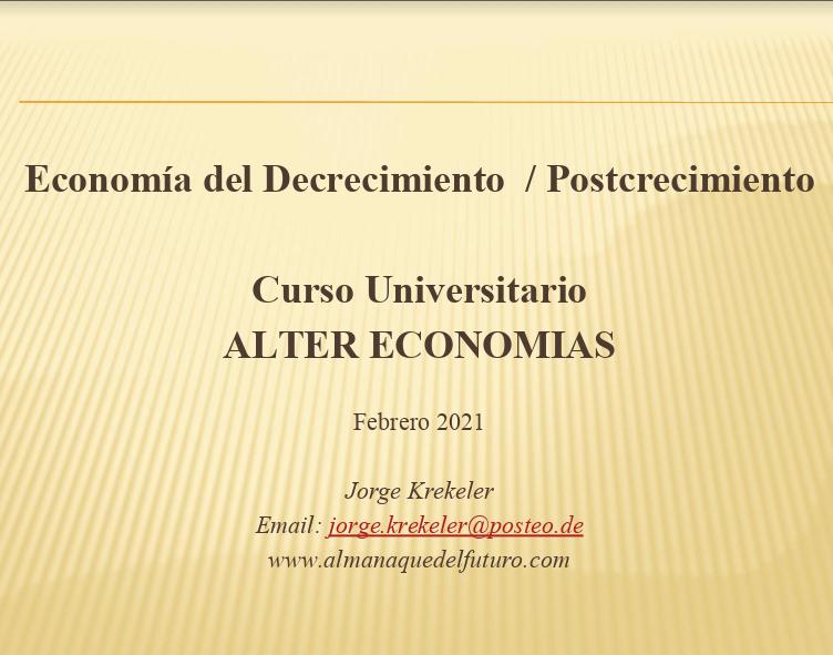 Economía del decrecimiento postcrecimiento